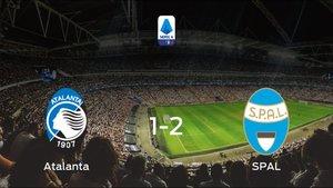 El SPAL suma tres puntos a su casillero frente al Atalanta (1-2)