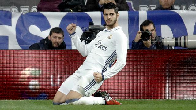 La trayectoria de Morata en el Real Madrid