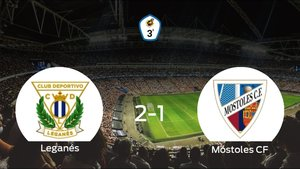 Tres puntos para el equipo local: Leganés B 2-1 Móstoles CF