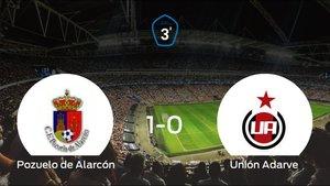 Tres puntos para el equipo local: Pozuelo de Alarcón 1-0 Unión Adarve
