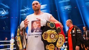 Tyson Fury no se siente con fuerzas para pelear de nuevo