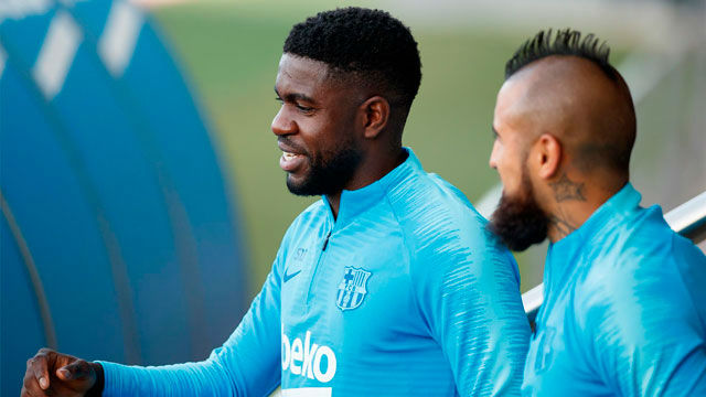 Valverde recupera a Umtiti y a Vermaelen