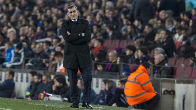 Valverde, sobre Messi: Pensábamos que era mejor que entrara en el segundo tiempo
