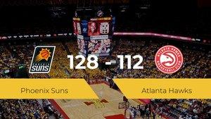 Victoria de Phoenix Suns ante Atlanta Hawks por 128-112