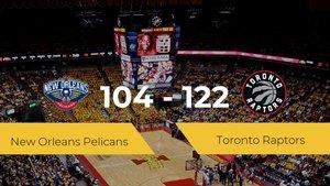 Victoria de Toronto Raptors ante New Orleans Pelicans por 104-122