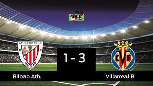El Villarreal B vence en Artunduaga (1-3) y ya tiene pie y medio en Segunda