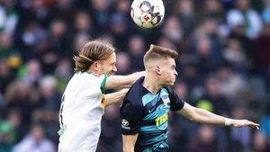Vucevic espió en el Monchengladbach - Hertha Berlín