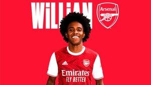 Willian será del Arsenal las próximas tres temporadas