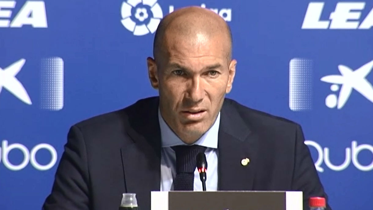 Zidane: Me alegro por Dani