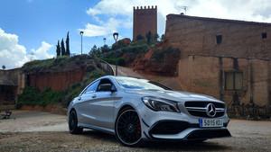 AMG CLA 45 4MATIC, emoción familiar