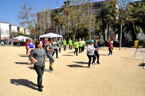 Imagen de la iniciativa Cornellà a peu celebrada el año pasado en la ciudad