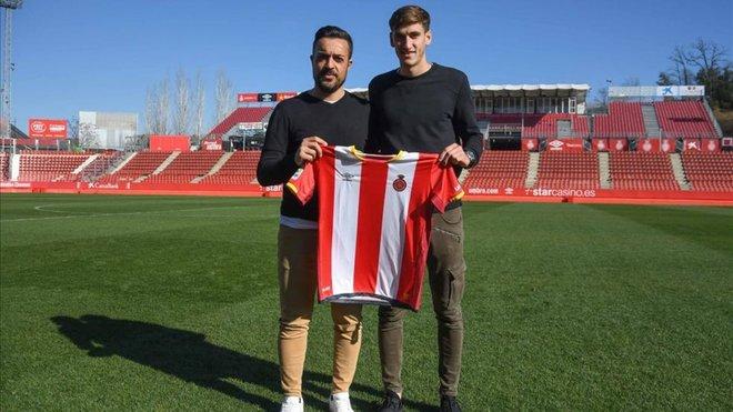 Santi Bueno, nuevo jugador del Girona