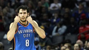 Abrines perdió con los Oklahoma City Thunders