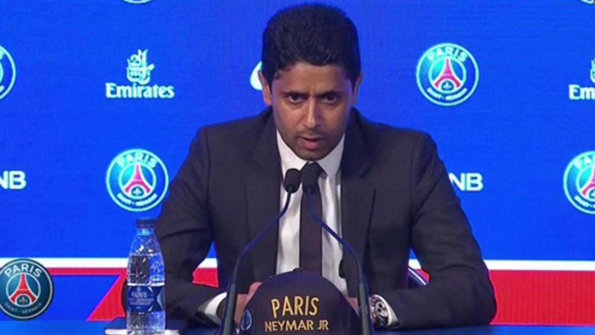 Al-Khelaifi: El fichaje de Neymar no es una venganza