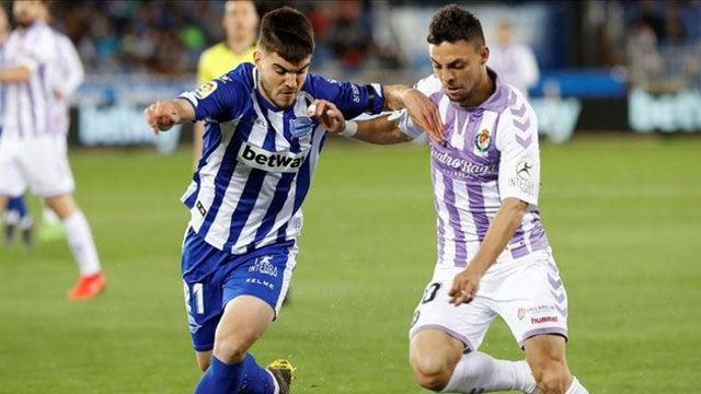 El Alavés se deja empatar en casa por un valiente Valladolid