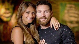 Antonella Roccuzzo felicita a Leo Messi por el Día del Padre | El País