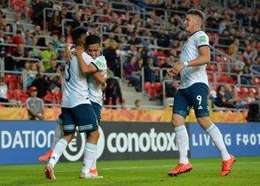 Argentina inició con el pie derecho su inicio en el Mundial Sub-20