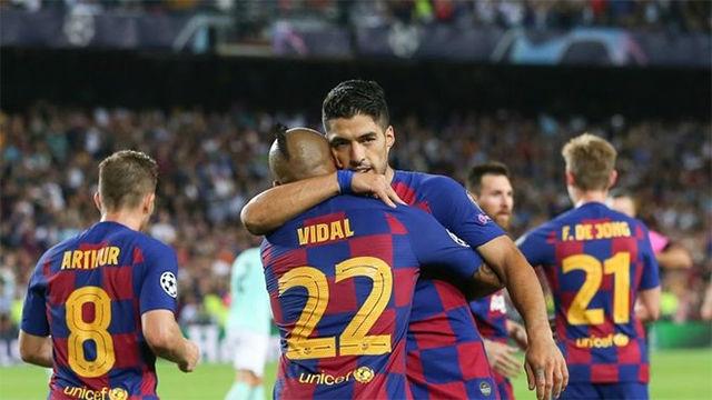 Arturo Vidal, Todibo y Dembélé pueden ser los cambios más importantes en el once ante el Sevilla
