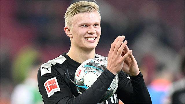 Así fue el espectacular debut de Haaland con el Borussia: hat-trick en 20 minutos