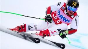 El austríaco Hirscher ha vuelto con más fuerza y agresividad
