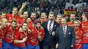 El balonmano español brilló de la mano de Juan de Dios Román