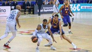 El Barça sufrió en su debut en la Liga ACB