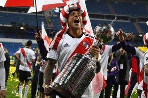 La celebración del título de River Plate