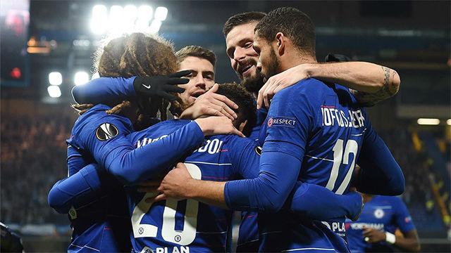 El Chelsea no da opción y ya está en octavos