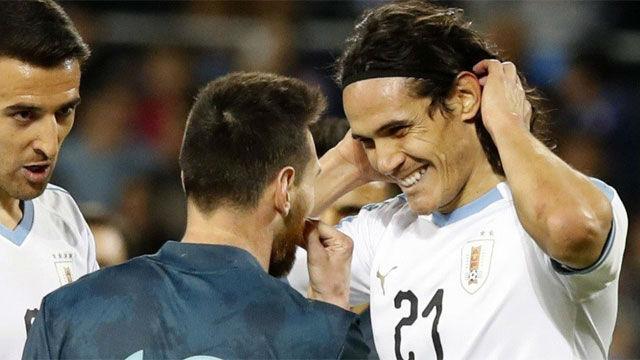 Cuando quieras; la contundente respuesta de Messi al vacile de Cavani que está dando la vuelta al mundo