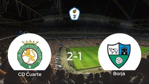El CD Cuarte gana 2-1 en su estadio frente al Borja