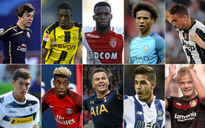 Diez de las grandes promesas a seguir de la Champions League 2016-17