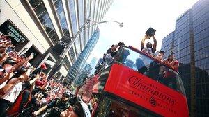 Dos millones se echaron a la calle para celebrar el título