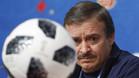 El entrenador de Costa Rica Oscar Ramírez