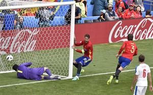 España acapara mucha atención en la Eurocopa