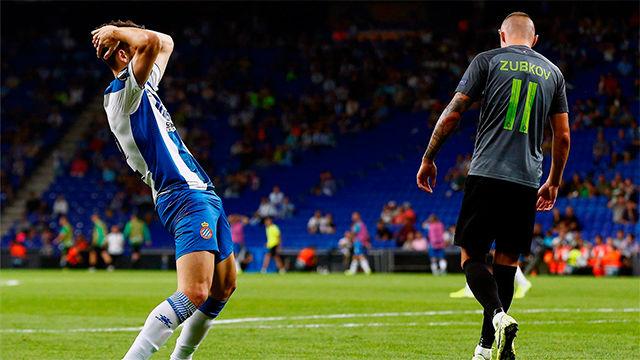 El Espanyol consigue un pobre empate ante el Ferencváros en su vuelta a Europa