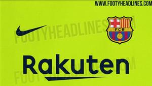 Este sería el color de la camiseta visitante del Barça