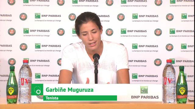 Garbiñe Muguruza: Quizá juego mejor en torneos grandes