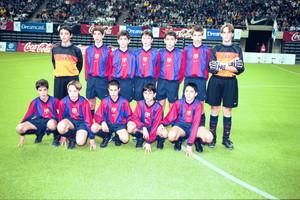 10. Gerard Piqué 1999-2000
