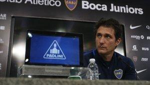 Guillermos Barros Schelotto quiere tocar el cielo con Boca Juniors