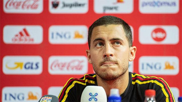 Hazard le da calabazas al Madrid en enero