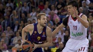 Jaka Blazic se ganó las mejores ovaciones del Palau