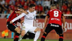 James Rodríguez quiere repetir en el once de Zidane