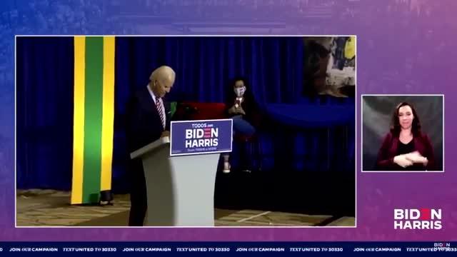 Joe Biden baila Despacito en un mítin de campaña en Florida