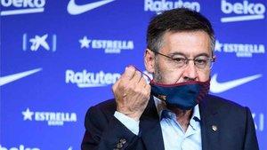 Josep Maria Bartomeu ya no participa en Twitter