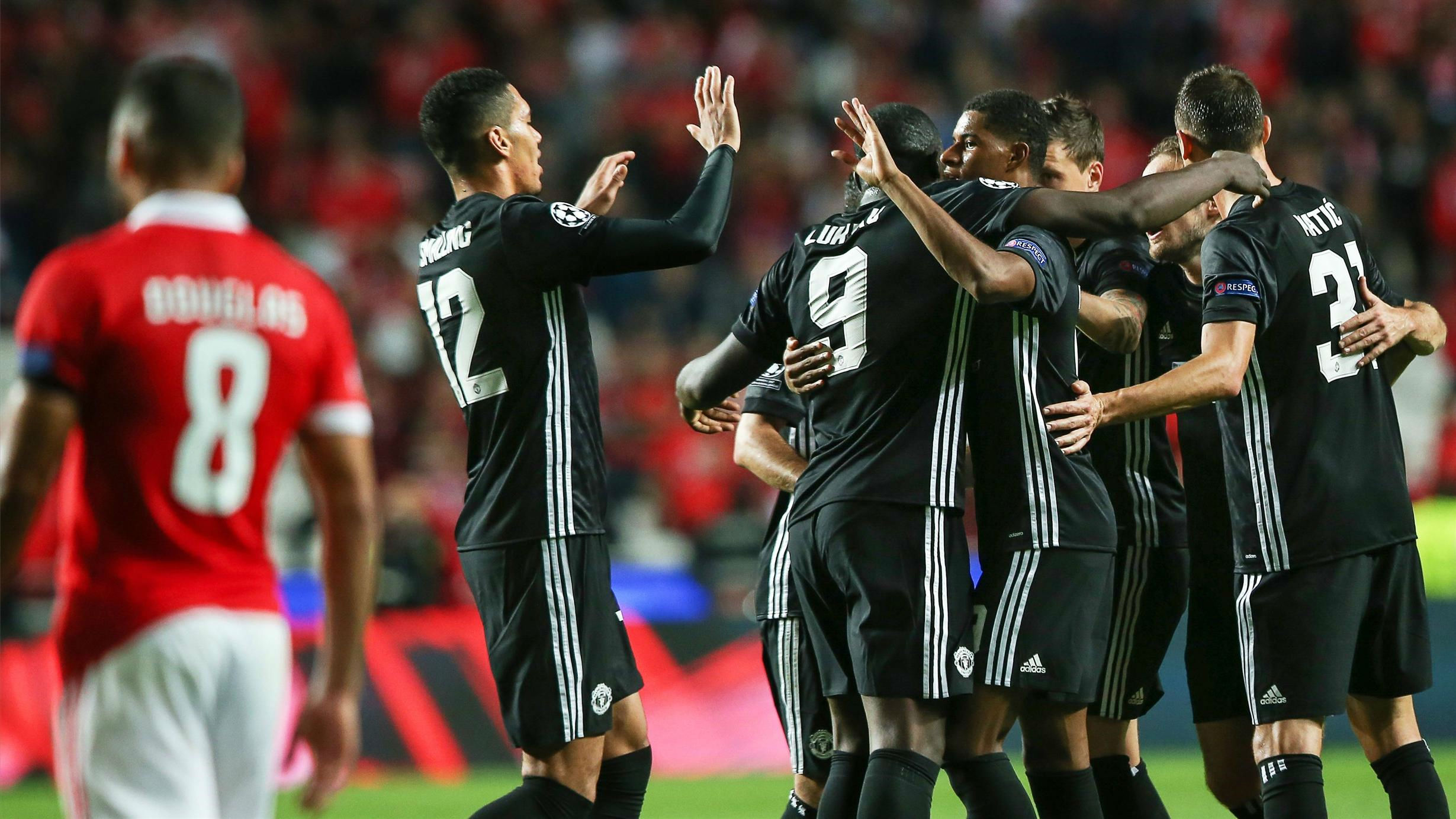 LACHAMPIONS   Benfica - Manchester United (0-1