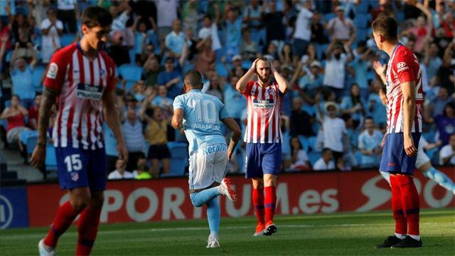 LALIGA | Celta - Atlético de Madrid (2-0)