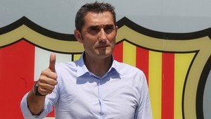 Las primeras imágenes de Ernesto Valverde como entrenador del FC Barcelona