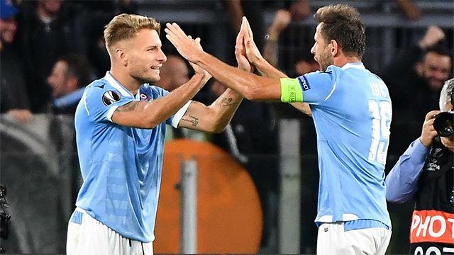 La Lazio supera al Stade Rennais con remontada incluida