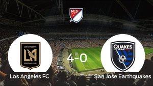El Los Angeles FC se lleva la victoria tras golear 4-0 al San Jose Earthquakes