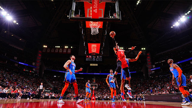 Los Thunders se imponen en casa de Houston Rockets (107-112)